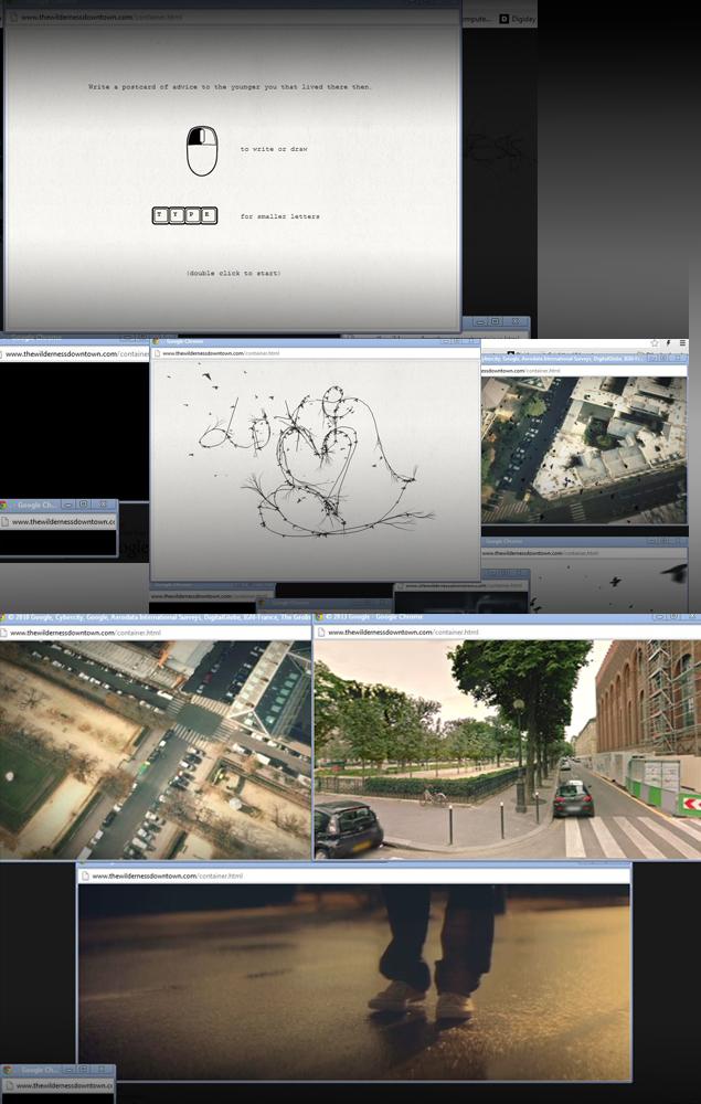 snapshot of screen, while waching interactive film