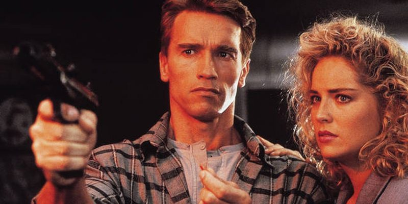total recall arnold and sharon